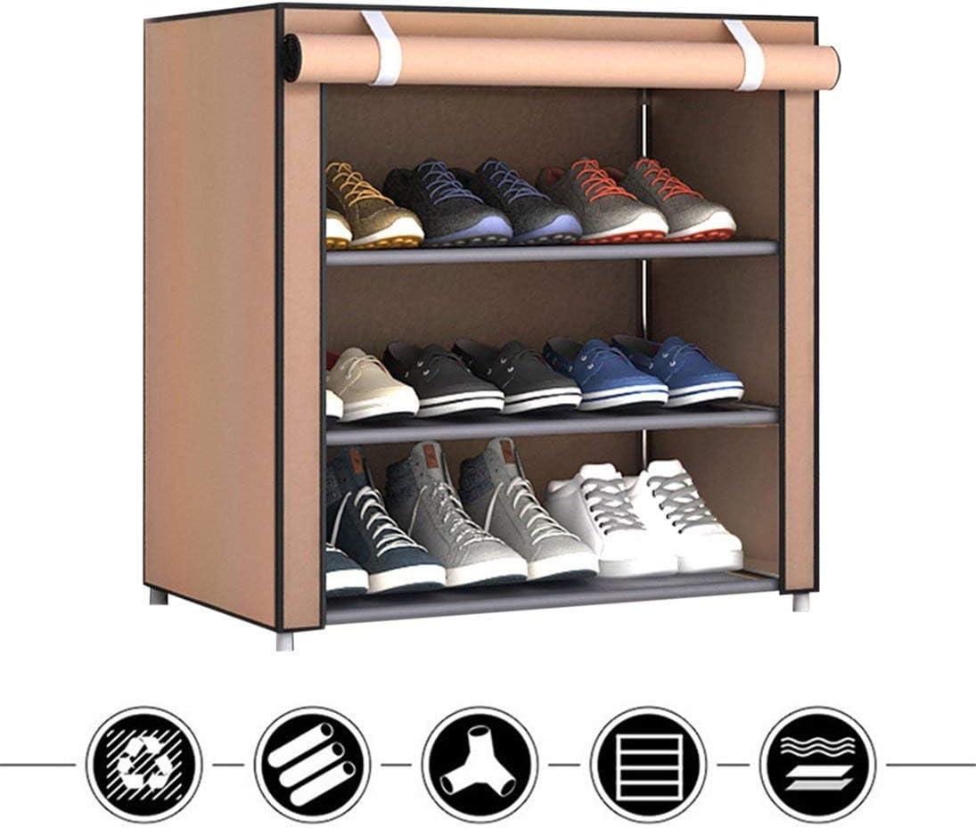 WEIHAN Zapatillas de Tela no Tejida de Gran tama/ño y a Prueba de Polvo Organizador para el hogar Dormitorio Dormitorio Racks para Zapatos Gabinete para Estante