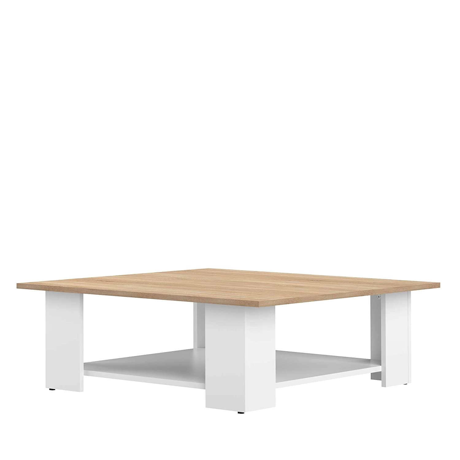 Marca Amazon - Movian Taro - Mesa de centro, 89 x 89 x 30.5 ...