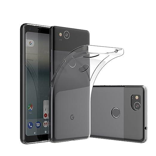 1 opinioni per Google Pixel 2 Custodia Cover, Elekin Google Pixel 2 Cover TPU silicone [Crystal