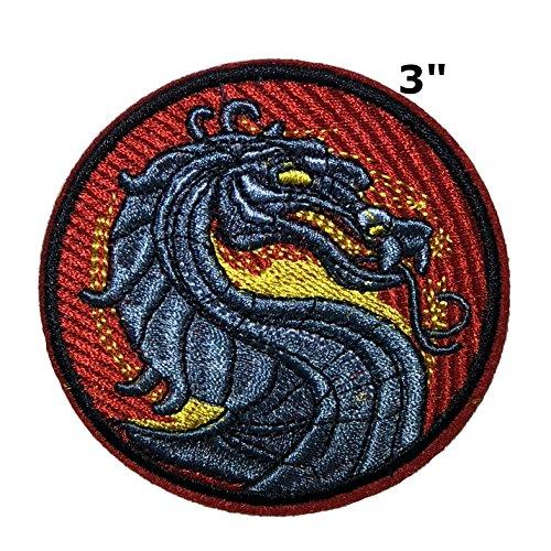 Mortal Kombat Silver Red Logo - 3