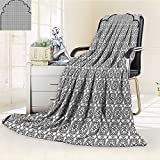 Digital Printing Blanket Arabian Art Background with a Group of Turkish Ottoman Forms Summer Quilt Comforter