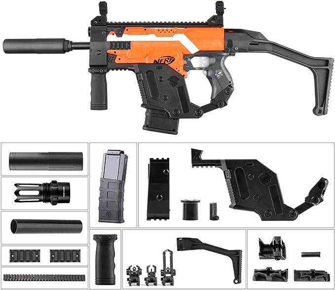 WORKER Kriss Vector Imitation Kit Combo 11 Artikel für NERF N-Strike Stryfe Blaster