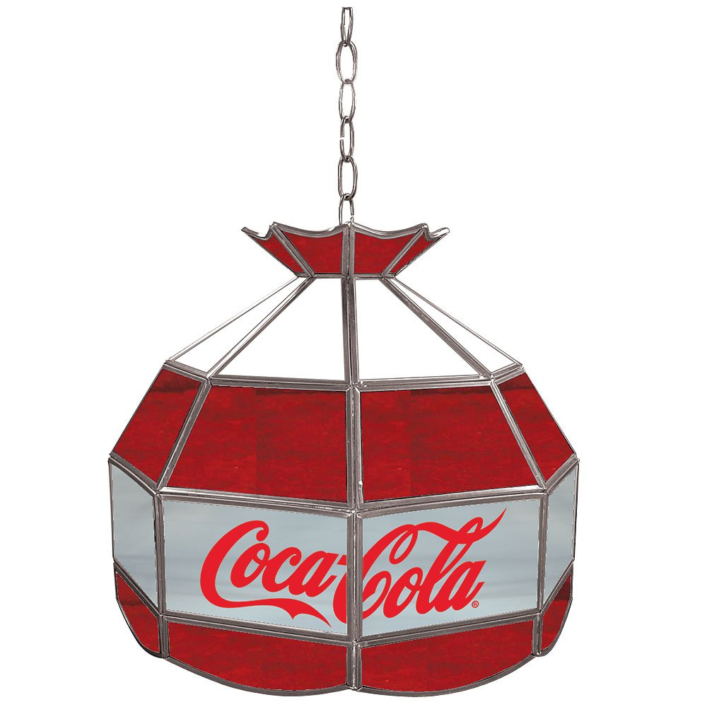 Coca-Cola Tiffany Gameroom Lamp, 16''