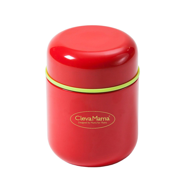 Clevamama Boite Isotherme pour Repas et Boisson Red 7027 nourriture souper fruit