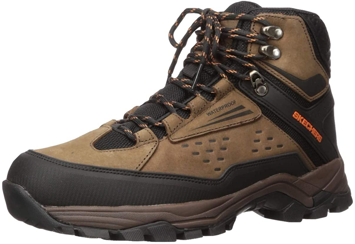 Skechers Men s POLANO-Norwood Waterproof Hiker Hiking Boot