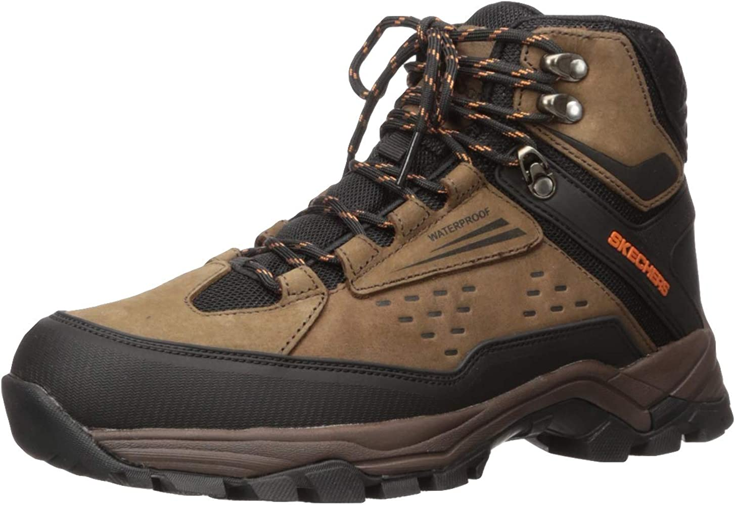 Skechers Men's Polano Norwood Waterproof Hiker Hiking Boot