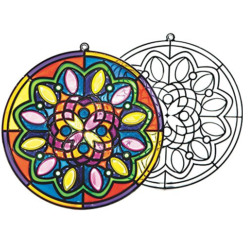 (Sun Catcher Mandalas)