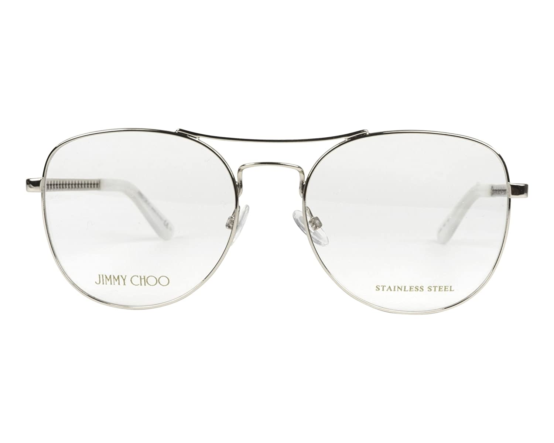 Jimmy Choo frame Metal Silver JC-200 YB7
