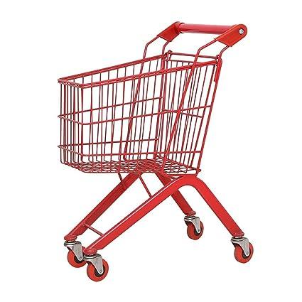 Carrito de compras Carrito En Espiga Pie De Supermercado Supermercado Carrito