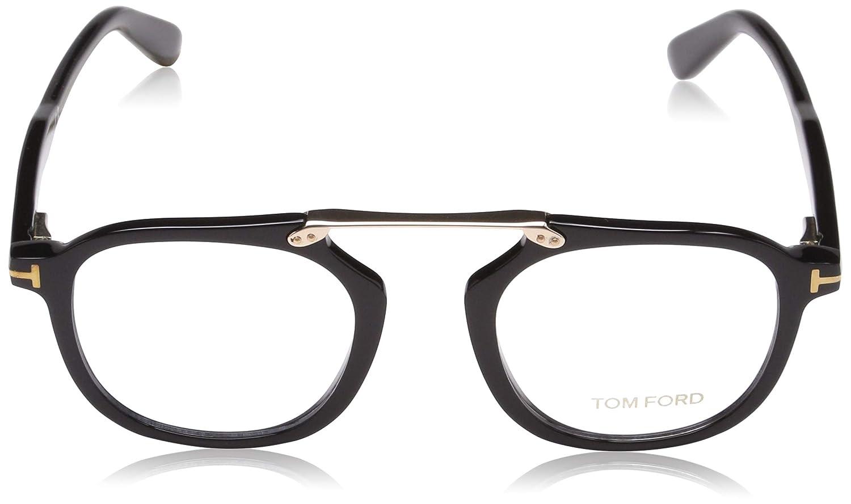 bc1a3257ce70 Tom Ford FT5495 Eyeglasses 001 Black