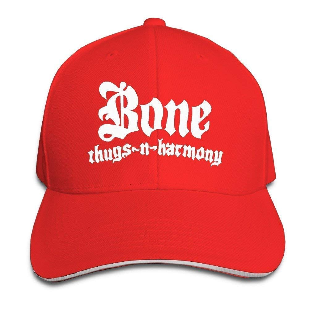Fitted Sandwich Bill Cap Bone Thugs N Harmony Wish Bone Trucker Hat Haipaul