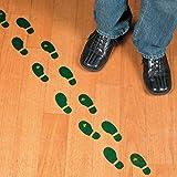 leprechaun pot of gold - Leprechaun Footprint Floor Decals (16 Pairs) St. Patrick's Day Party Decor