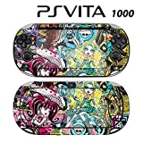 Decorative Video Game Skin Decal Cover Sticker for Sony PlayStation PS Vita (PCH-1000) - Monster High Ghoul Skull