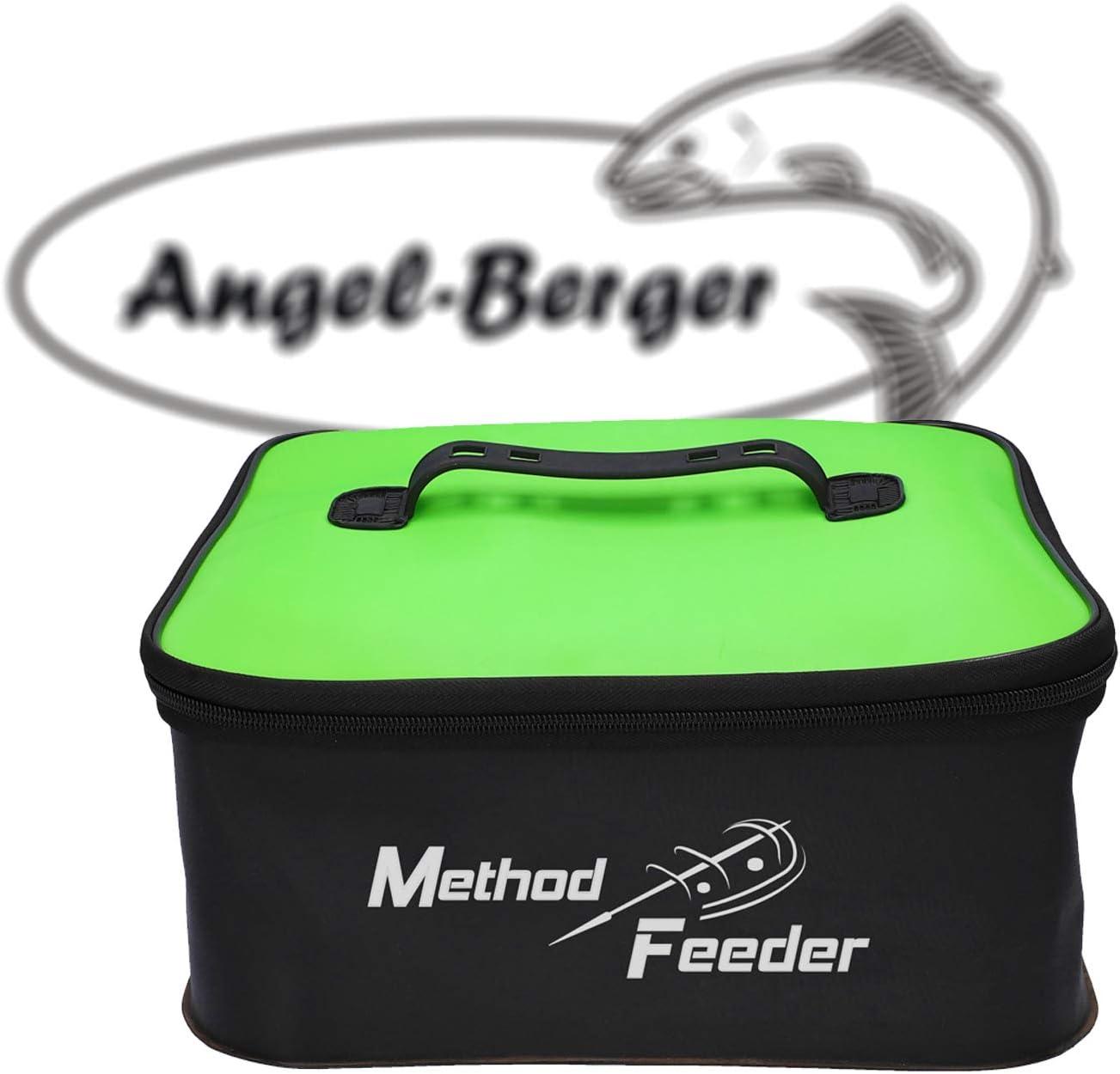 Angel-Berger Method Feeder Bag Eva Feedertasche Angeltasche Zubeh/örtasche K/ödertasche