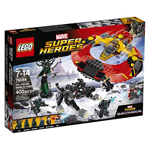 LEGO Super Heroes the Ultimate Battle for Asgard 76084 Build