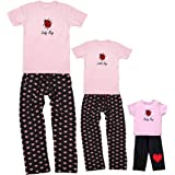 Lady Bug, Little Bug Baby Bug Mommy Daughter Sets