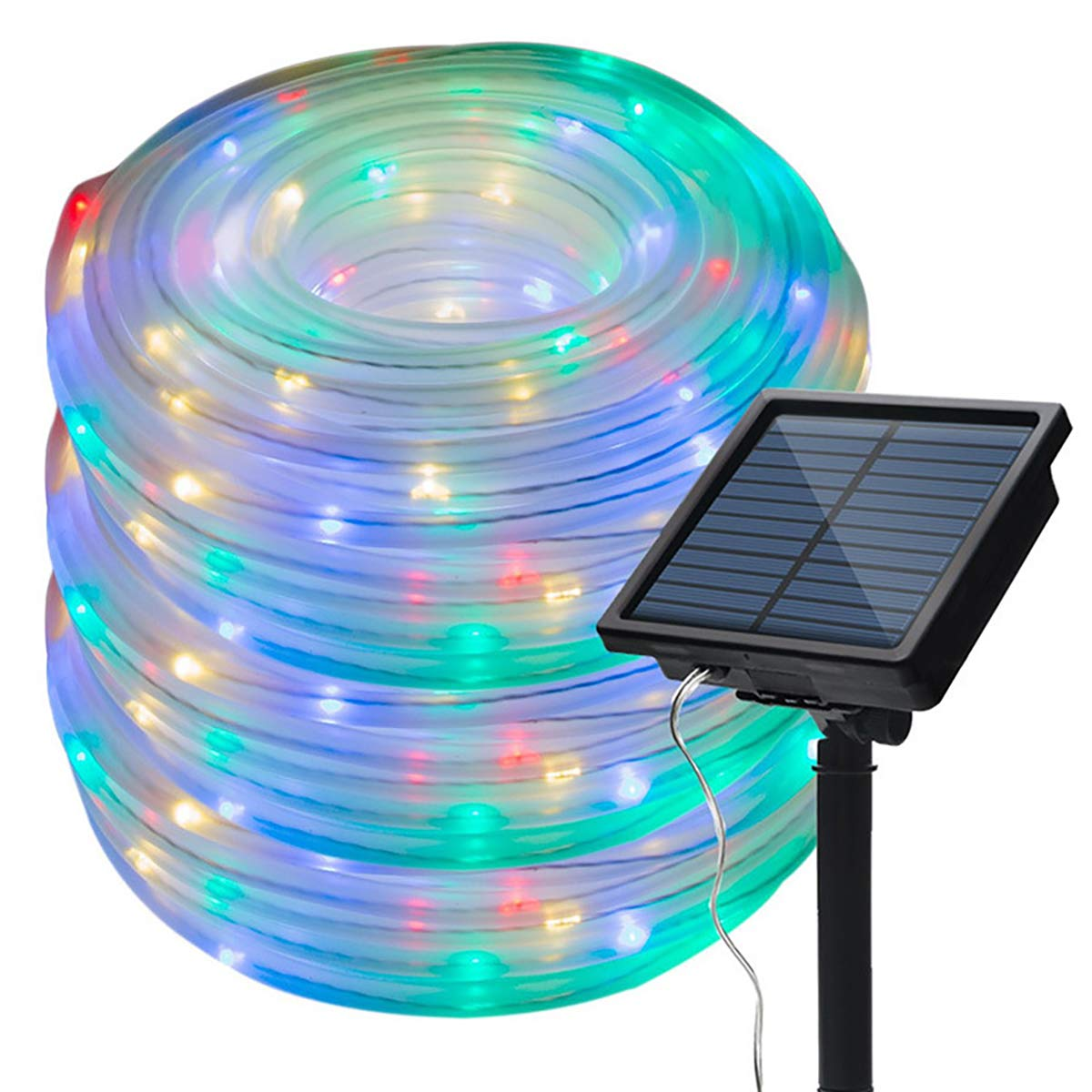 Eco hut Outdoor Solar Rope Lights 100 LEDs