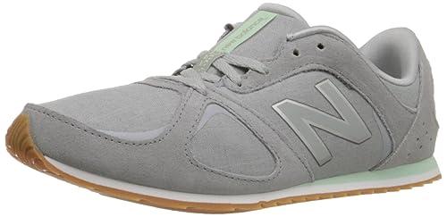 New Balance WL555 Mujer US 10 Gris Zapatillas: Amazon.es: Zapatos y complementos