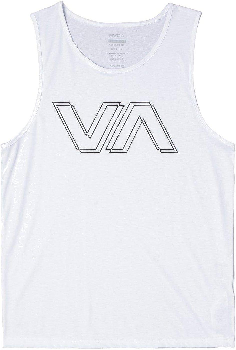 RVCA Mens Va Offset Tank T-Shirt