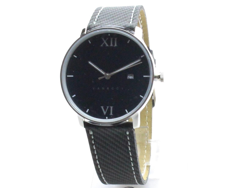 Vanacci -Herren Uhr Carbon Edition -474 -Schwarz -Edelstahl