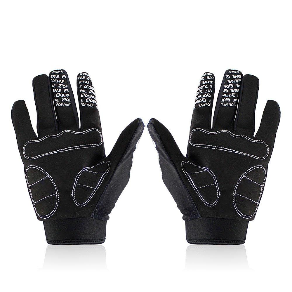 Lerway MTB Fahrrad Voll Finger warmen Radsport Fahrrad Handschuhe Herren Motorrad Vollfingerhandschuhe Herren Fahrradhandschuhe