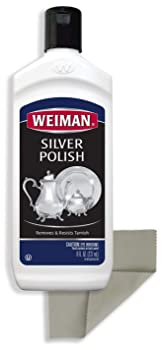 Weiman 8 ounce plus Cloth Silver Cleaner
