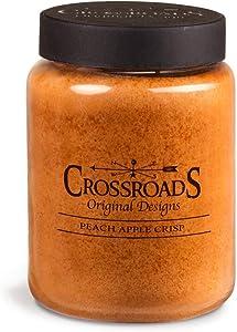 Peach Apple Crisp Crossroads Candle