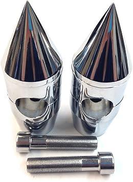"Rise 5.5/"" Chrome Handlebar Risers For Suzuki Boulevard C50 M95 C50T C90 C90T"