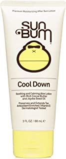 product image for Sun Bum Cool Down Aloe Vera Lotion | Vegan and Hypoallergenic After Sun Care with Cocoa Butter to Soothe and Hydrate Sunburn Pain Relief | 3 oz