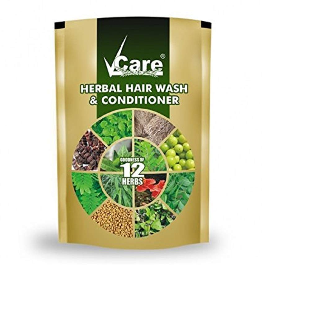 Vcare Herbal Hair Wash, 100g