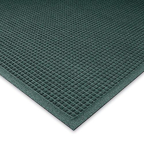 Andersen Waterhog Waffle Design Mat - 4X6' - Fabric Border - Evergreen - Evergreen - ()