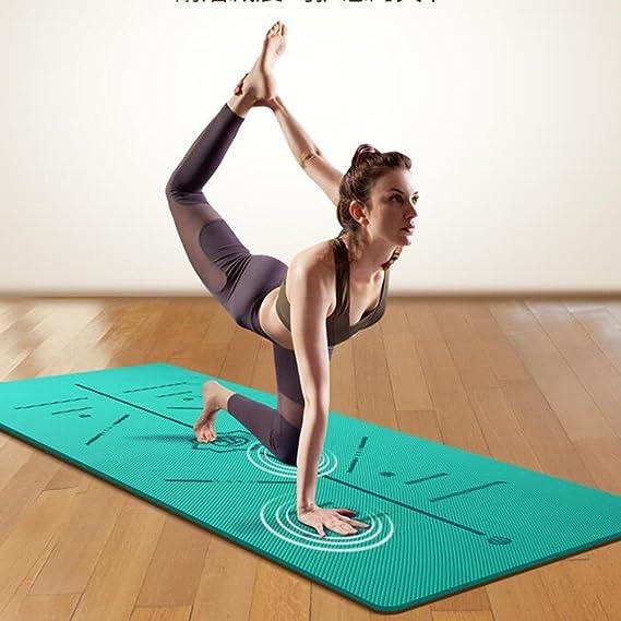 Amazon.com : Amsdouedkdiekdi Yoga Mat Fitness Non-Slip TPE ...