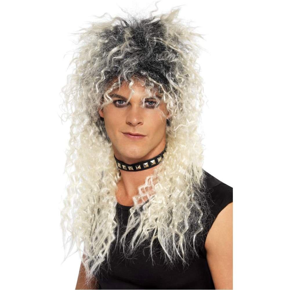 smiffy S sm42180 peluca Hard Rocker, talla única: Amazon.es: Juguetes y juegos