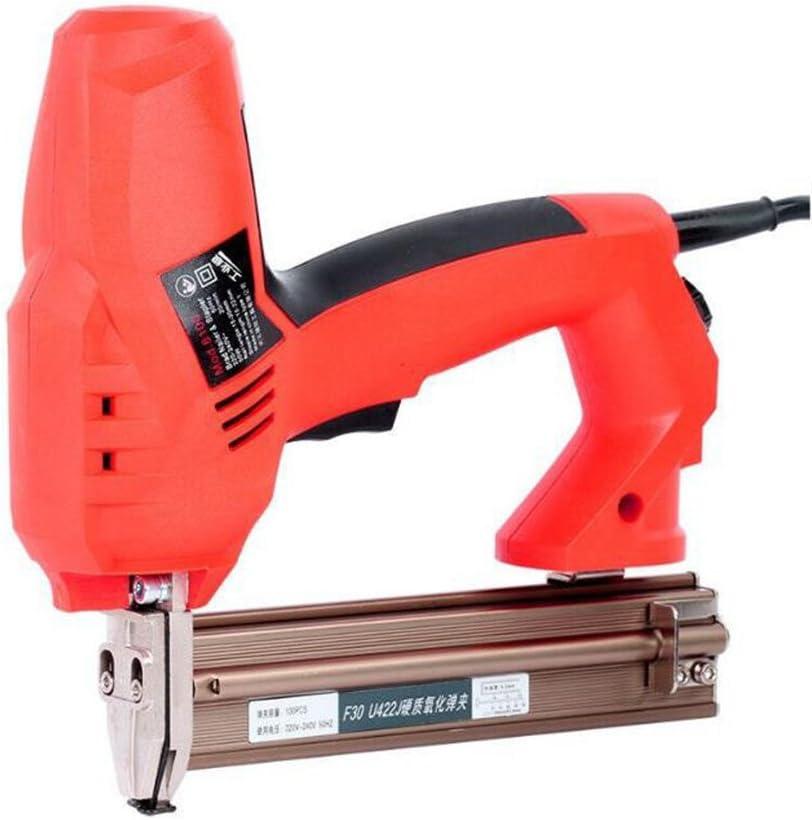 Herramientas Eléctricas Para Carpintería Y Decoración De Pistola De Clavos, Clavadora RS-0030 Adecuada Para Uñas Rectas Y Uñas En Forma De U