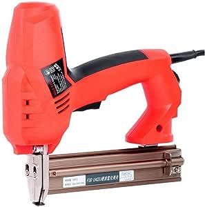 Pistola de clavos F30 Pistola de clavos recta el/éctrica Grapadora de clavos Herramientas de clavado para carpinter/ía Enchufe de la UE 220 V