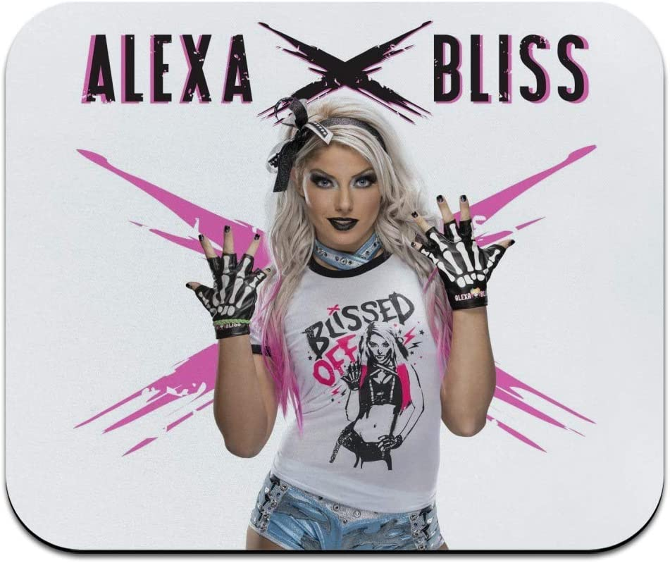 WWE Alexa Bliss Low Profile Thin Mouse Pad Mousepad