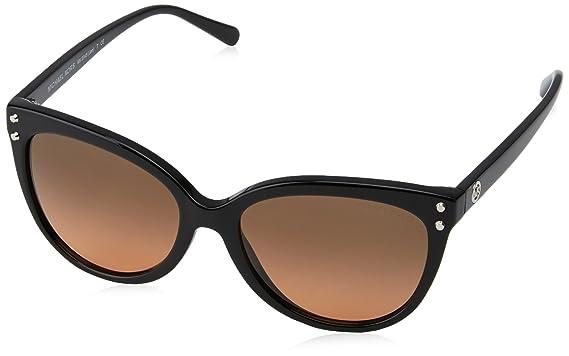 6782eed406b5 Michael Kors Women's Jan MK2045 55mm Black/Grey/Orange Gradient Sunglasses