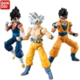 Bandai Shokugan Dragon Ball Shodo 6 Ultra Instinct Goku & Vegito (VEGETTO) & Gohan Figure Set of 3 [ Gum Not Included ]