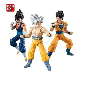 Bandai Dragon Ball Z Shodo Set de 3 figurines S6 Vegito Ultimate Gohan Goku Ultr