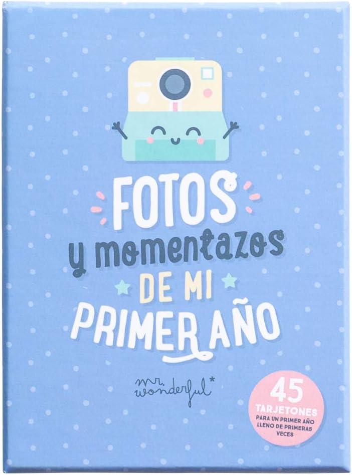 Mr. Wonderful Tarjetas para bebés - Fotos y momentazos de mi primer año