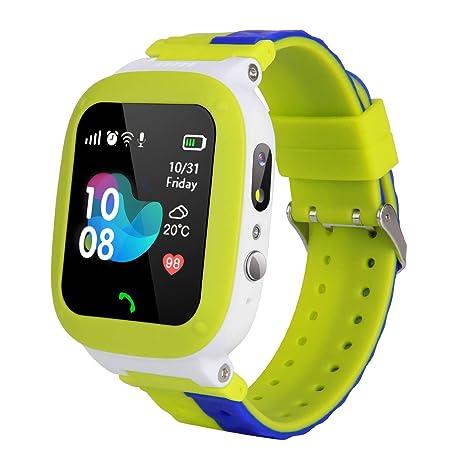 Amazon.com: Reloj inteligente impermeable para niños – Reloj ...