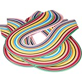 Pandahall Elite 1440 Strips 36 Colors Quilling Paper Strips Quilling Art Strips 3 mm Width 52 cm Length