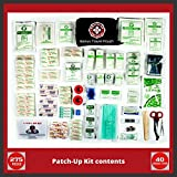 First-Aid-Kit-275-Pieces-40-Unique-Items-Family-Emergency-Disaster-Earthquake-Survival-Large-Portable-Bag-Ideal-for-Home-Car-Boat-Kayak-Backpack-RV-Sports-Camping-Hiking-Protect-Your-Loved-Ones