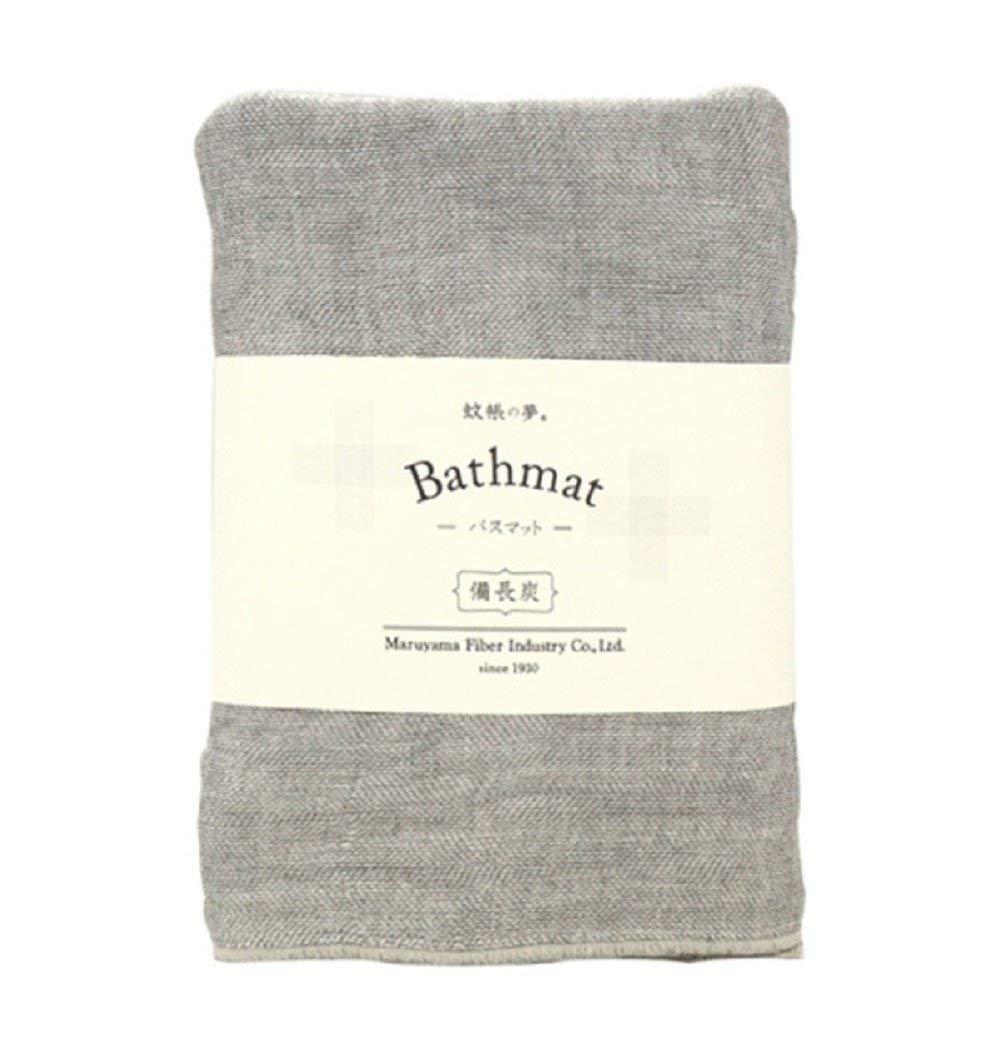 IPPINKA Nawrap Binchotan Charcoal Bathmat, Large Style, Naturally Anti-Odor