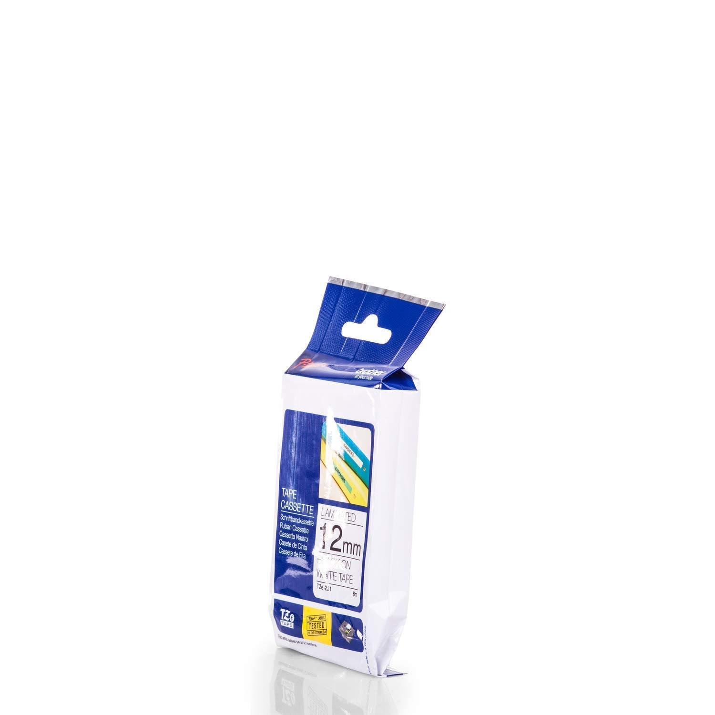 9 mm Beschriftungsband f/ür Brother P-Touch 2400 Schriftband-Kassette f/ür PTouch 2400 Schwarz auf Weiss 9mm breit 8mtr.