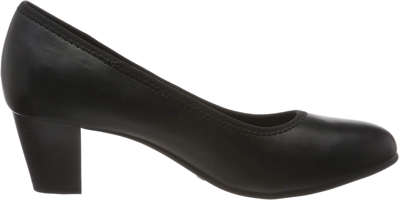 Jana 8-8-22463-24 dames pumps zwart (black 001)