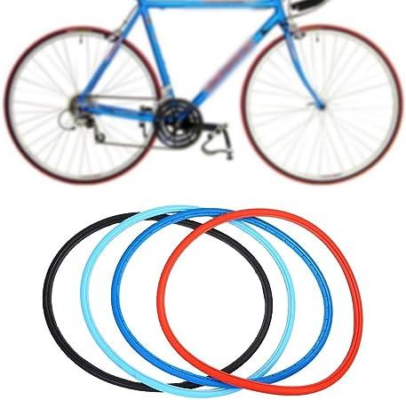 Neumáticos sólidos del neumático de la bici de 700 x 23c Neumáticos de la bici del camino Bicicleta de la manera que completa un ciclo los neumáticos sólidos del montar a caballo