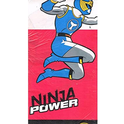 Power Rangers Vintage 2003 Ninja Storm Paper Table Cover (1ct)