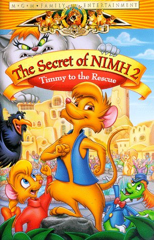The Secret Of NIMH 2 - Timmy To The Rescue [VHS] (Macys K)