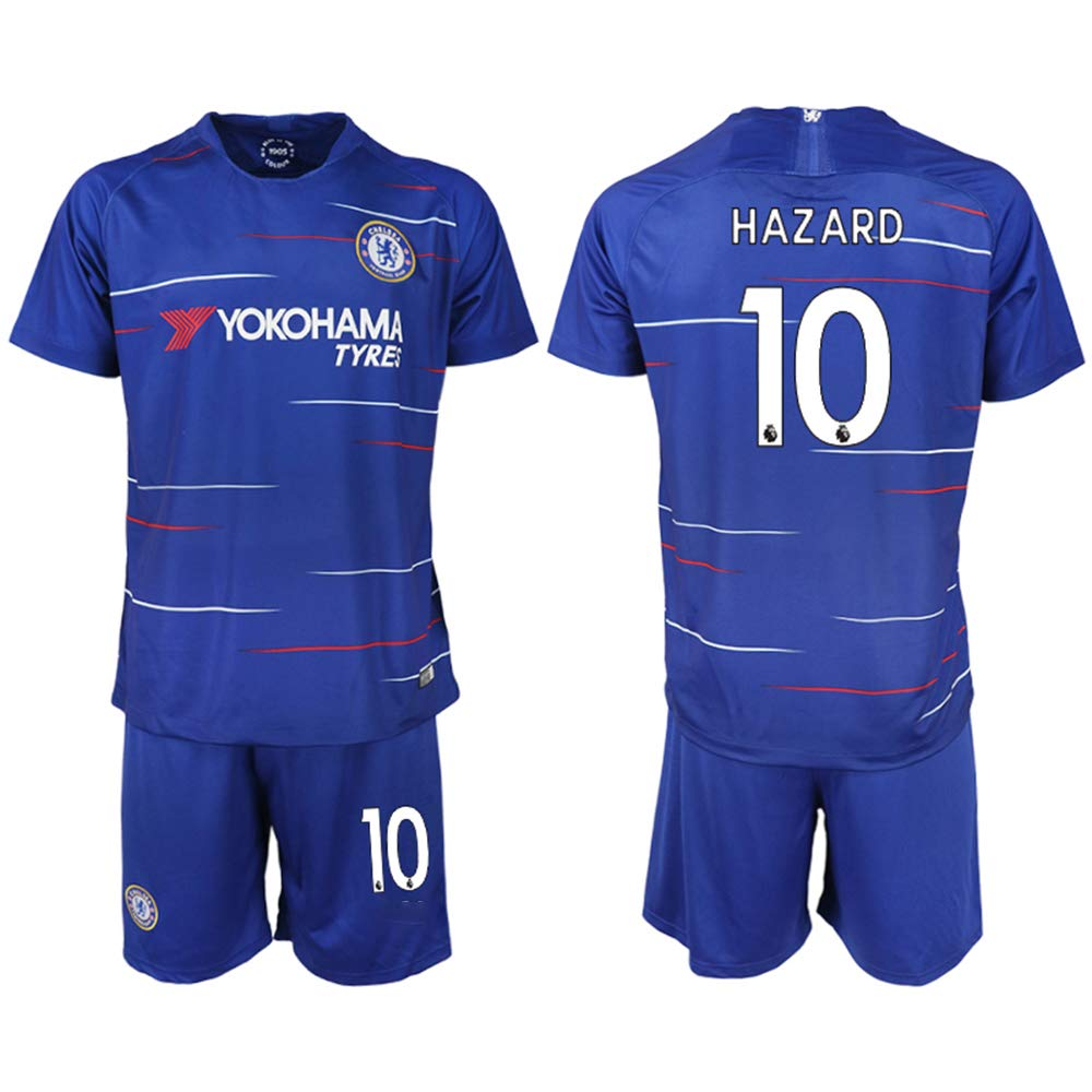 2018-2019 New Chelsea Hazard Kid's Soccer Jersey